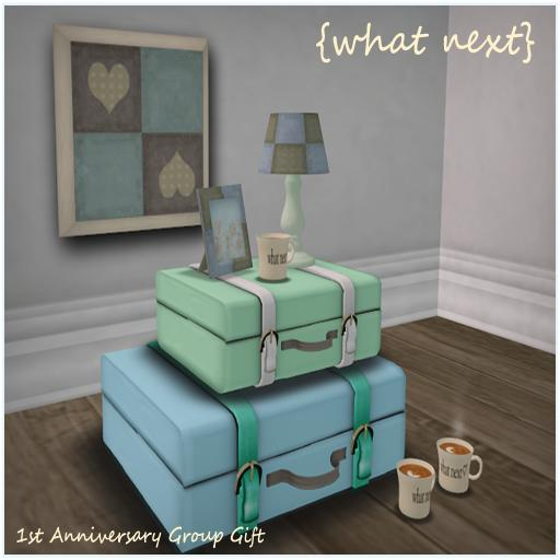 {what next} May Group Gift