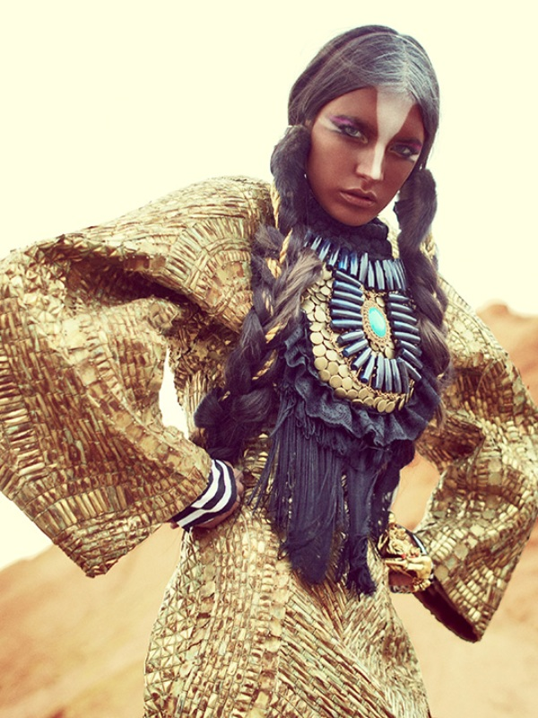 Anita Quansah reclaimed jewelry tribal trashion 17