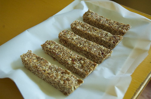 "Homemade, no bake ""Clif"" bars"