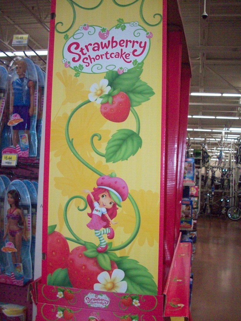 Strawberry Shortcake Display 1