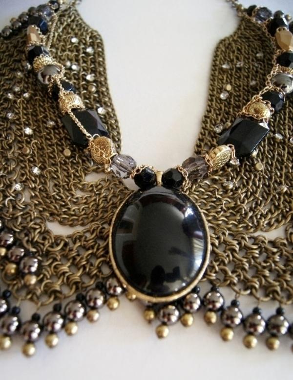 Anita Quansah reclaimed jewelry tribal trashion 4