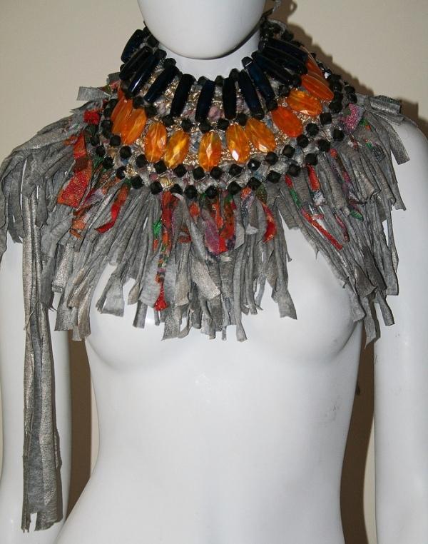 Anita Quansah reclaimed jewelry tribal trashion 14