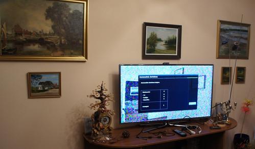Samsung Smart TV 46 colių 7 serijos LED 3D televizorius