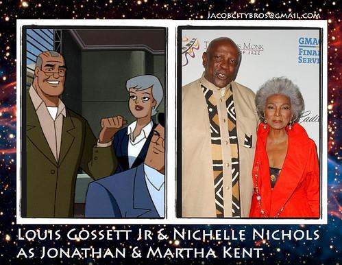 Louis Gossett Jr & Nichelle Nichols