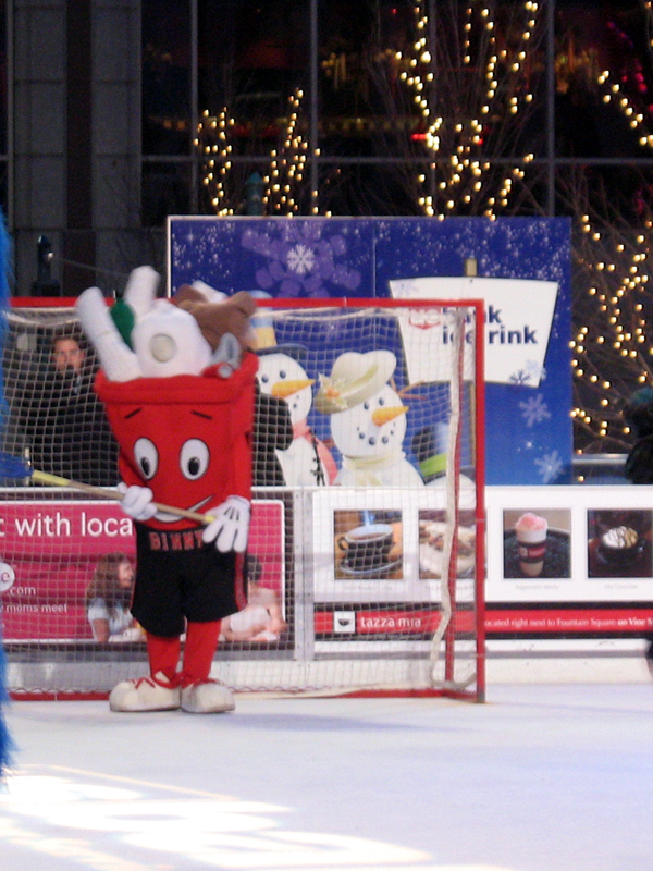 all-mascot Broomball