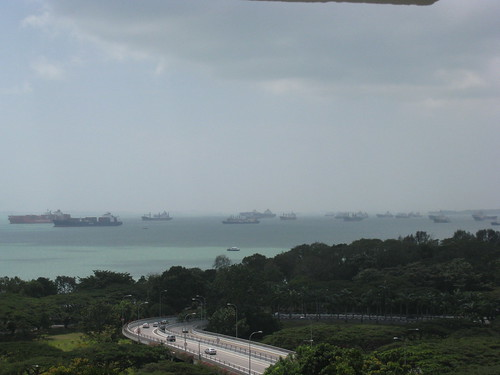The legendary Marine Parade view