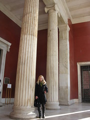 Ioanna at the National Archaeological Museum.  Athens, Greece (Tilemahos Efthimiadis) Tags: greek ancient hellas athens greece musuem 50views gianna antiquity nationalarchaeologicalmuseum ioanna openstreetmap ελλάδα αθήνα nouli μουσείο ιωάννα γιάννα εθνικόαρχαιολογικόμουσείο address:city=athens νούλι νούλη osm:way=10741857 address:country=greece iokel
