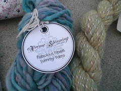 Close-up of some great yarn...