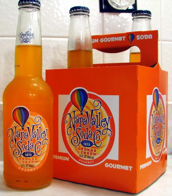 Napa Valley Soda Co. Orange & Cream