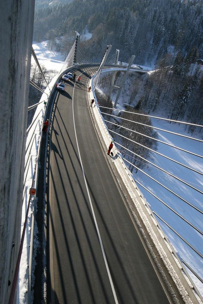 [组图] Sunniberg 一座完美的矮塔斜拉桥(16P) - 路人@行者 - 路人@行者