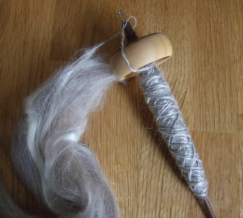 alpaca silk on IST spindle