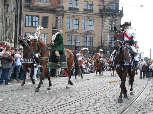 Festumzug 800 Jahre Dresden