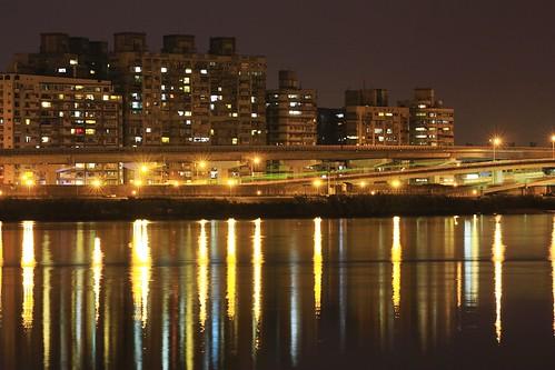 大稻埕 夕陽 Dadaocheng Wharf sunset