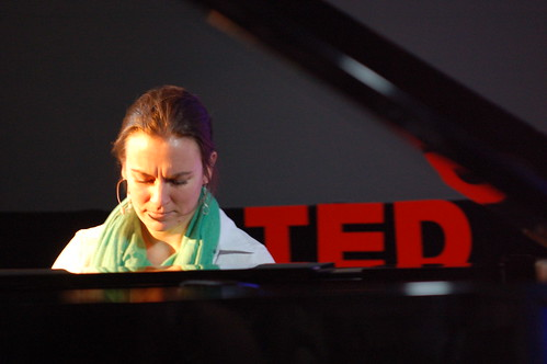 Daniela Candillari plays at TED 2009