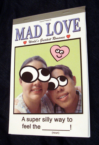 """Mad Love"" game book"