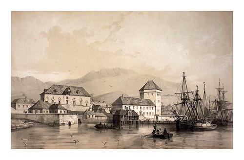 001- El antiguo palacio real en Bergen- Noruega