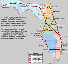 a vision for high-speed rail in Florida (by: FL High Speed Rail Authority)