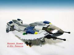 Northrop Grumman A-61b Peregrine (Patrick Chambers) Tags: lego vtol peregrine grumman northrop dropship