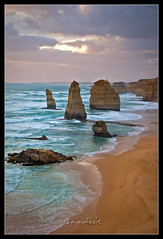 Apostles upright (Dylan Toh) Tags: park sunset sea sky seascape beach rock clouds port landscape waves australia victoria national campbell twelve apostles formations nauture everlook anawesomeshot auselite auselitephotooftheday everlookphotography