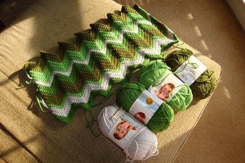 Irish Green Blanket 01