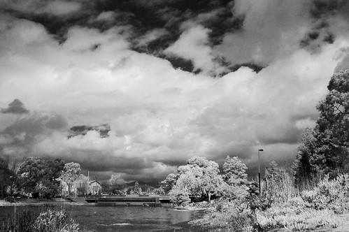 Lake Merritt Channel (IR) (View Large)