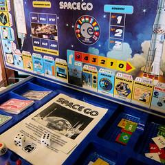 Space Go boardgame // Jeu de société Space Go