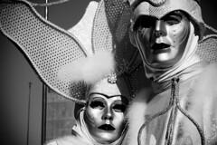 dramma in maschera in piazza san marco (Nicola Zuliani) Tags: venice carnevale venezia biancoenero maschere nizu nicolazuliani wwwnizuit