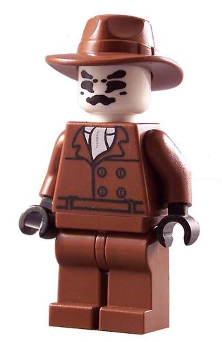 Rorschach Custom LEGO minifig