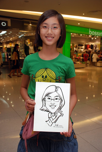 Caricature live sketching for The Cocoa Trees - Part 1 - 9