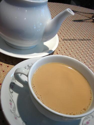 三槐堂熱奶茶