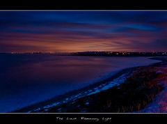 The Last Remaining Light (Dave the Haligonian) Tags: ocean longexposure nightphotography sunset sea copyright canada water night clouds evening nikon novascotia dusk sigma atlantic maritime halifax 1020mm dartmouth lawrencetown d90 thelastremaininglight davidsaunders davethehaligonian dsc6786nef