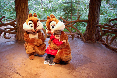 Hugs for Chip and Dale