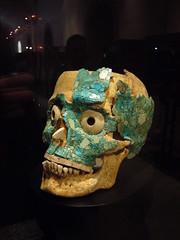 Museo de las Culturas de Oaxaca (AS500) Tags: city blue green museum tile mexico skull mosaic oaxaca museodelasculturasdeoaxaca