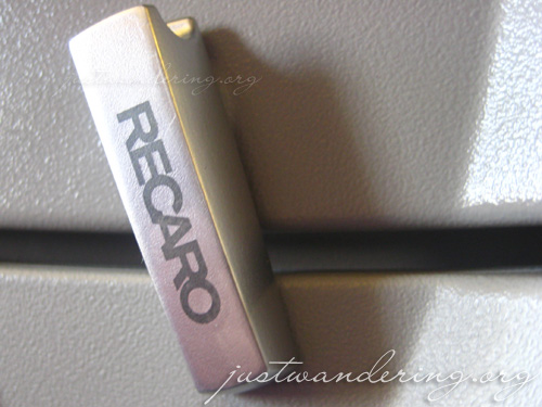 Philippine Airlines Recaro Seats