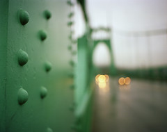 St. Johns Bridge class (Zeb Andrews) Tags: city bridge urban green film architecture oregon portland cityscape class transportation pacificnorthwest pdx teaching suspensionbridge instruction rivet steinman stjohnsbridge newspace pentax6x7 bluemooncamera zebandrews zebandrewsphotography