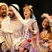 Ari with Allen Gilmore, Evan Zes, Stacey Yen, Nicole Shalhoub, Ramiz Monsef and Jesse J. Perez in The Arabian Nights