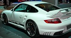Gt2 Porsche (D3 Photography) Tags: show white car nikon sigma melbourne international exotic quick 2009 d3 50mmf14