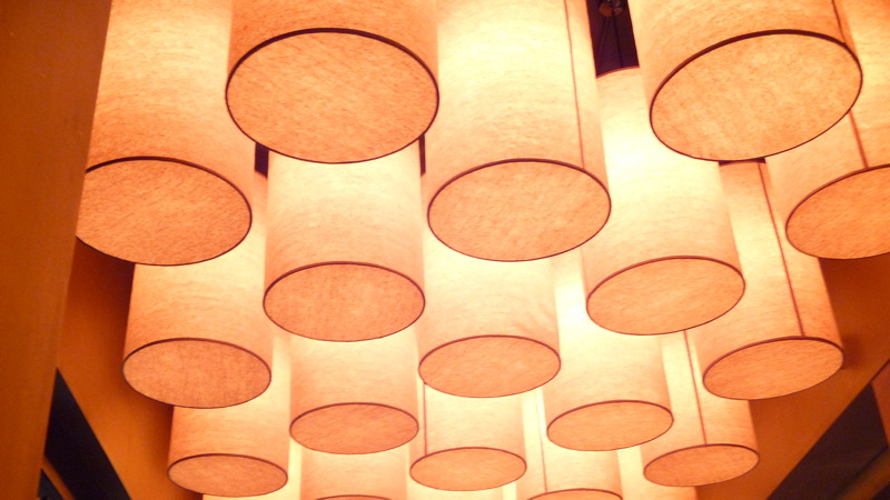 Ceiling at Char No. 4