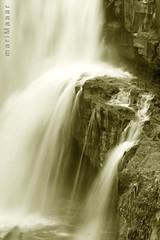 wedding gown (Maaar) Tags: longexposure water waterfall stones slowshutter