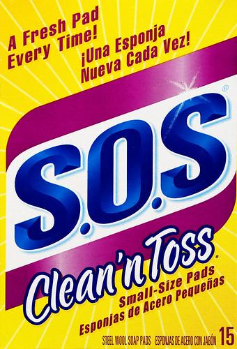 SOS Clean'n Toss