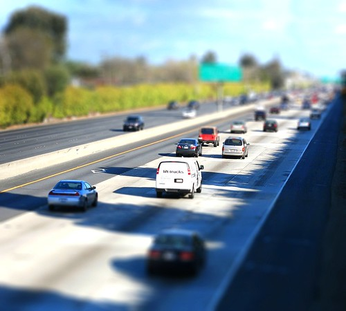 Highway 101 fake miniature