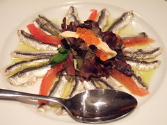 Marinated Anchovies at Mourayo