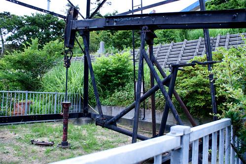 綱式石油井戸C-2号保存施設