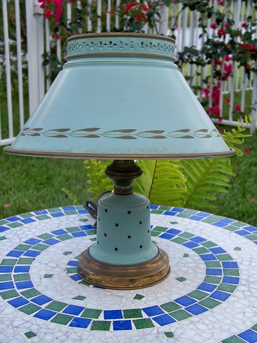 New Old Tin Lamp by you.