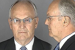 Sen. Larry Craig (R) who was arrested for cruising for sex in a public men's bathroom