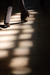 Stepping in to the Light (Lori Foxworth) Tags: nyc newyorkcity urban shoes shadows grandcentral trainstations womensshoes subwaystations lightpatterns nyclandmarks lorifoxworth yourdailycheesesteak lorifoxworthphotography blackwhiteandraw