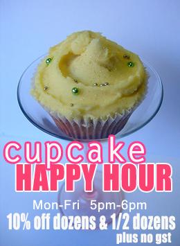 Flirt Cupcakes Happy Hour