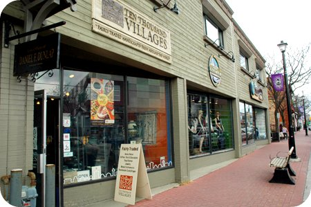 Ten Thousand Villages store in Westboro