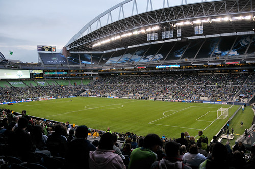 XBOX 360 Pitch at Qwest Field