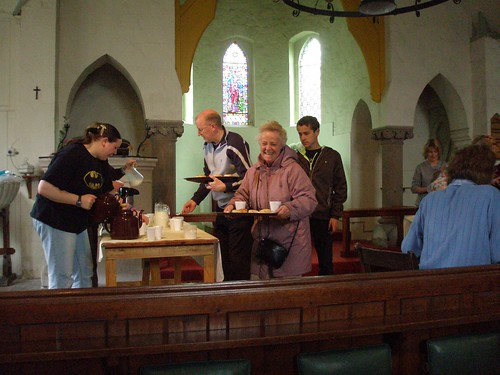 Cream Tea at St Ethelreda and the Holy Trinity church, Reach